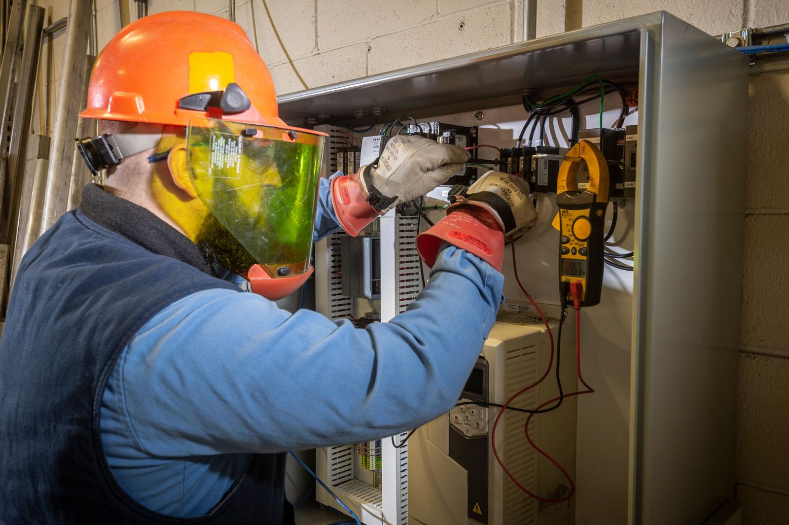 control panel service technician