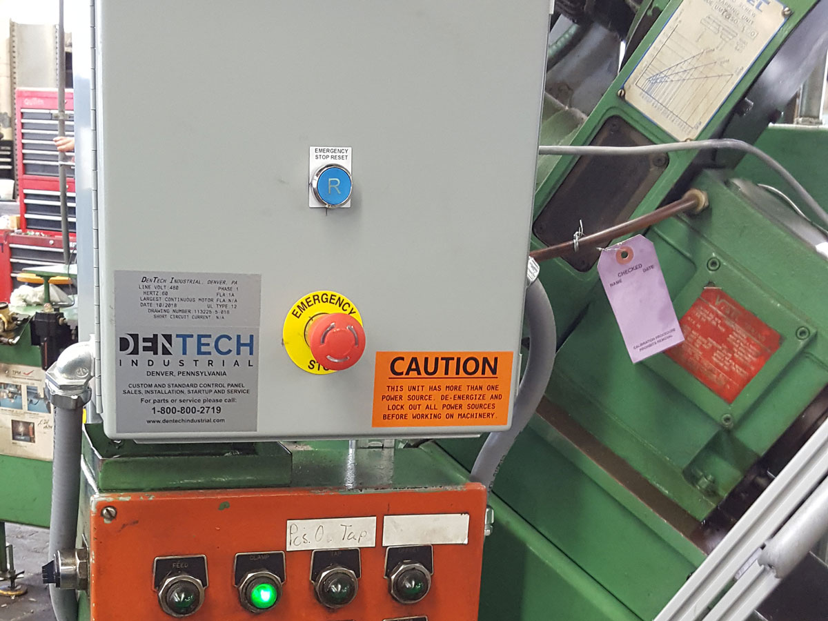 Machine safety emergency stop pull