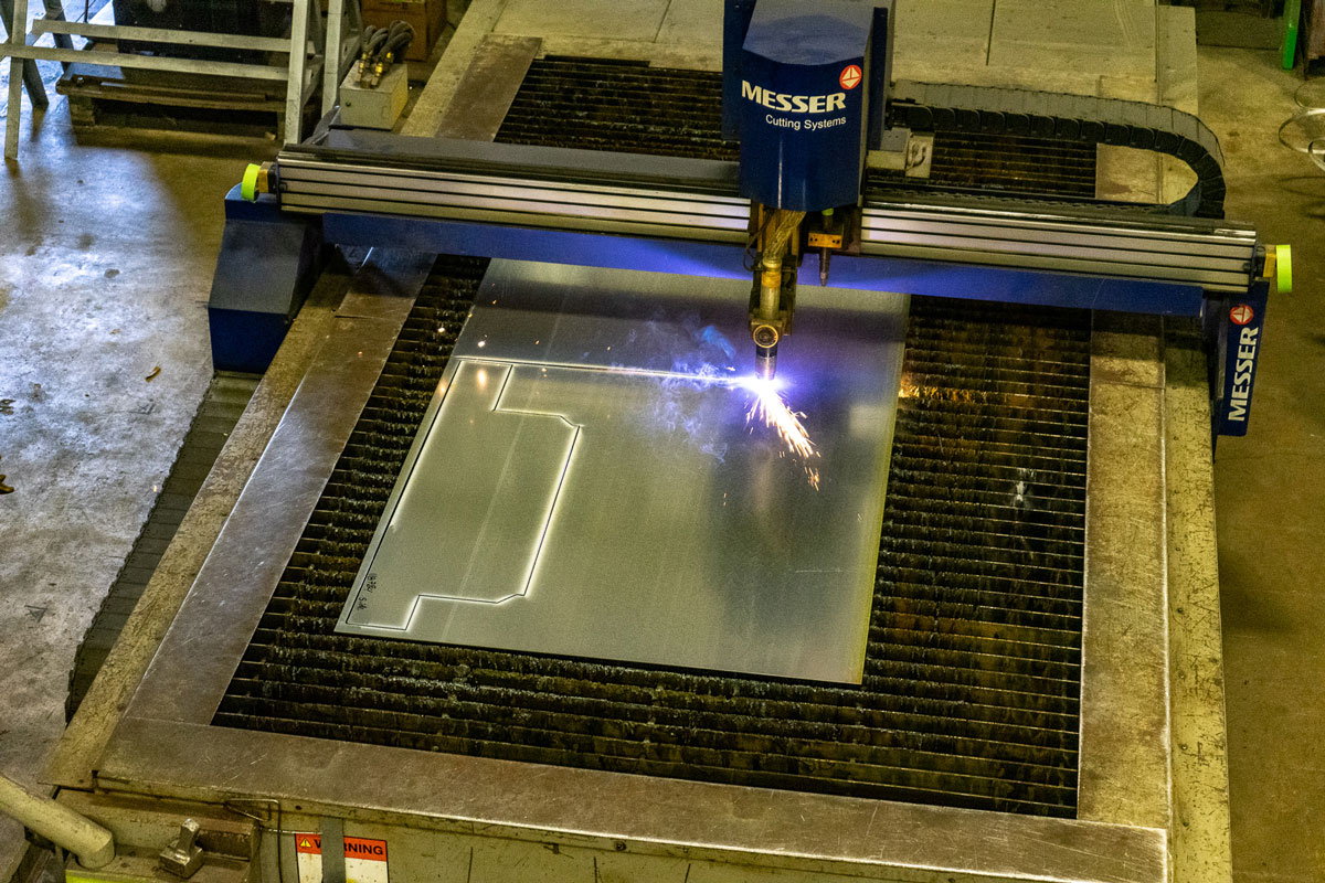 CNC HD-Plasma Cutter/Oxy fuel