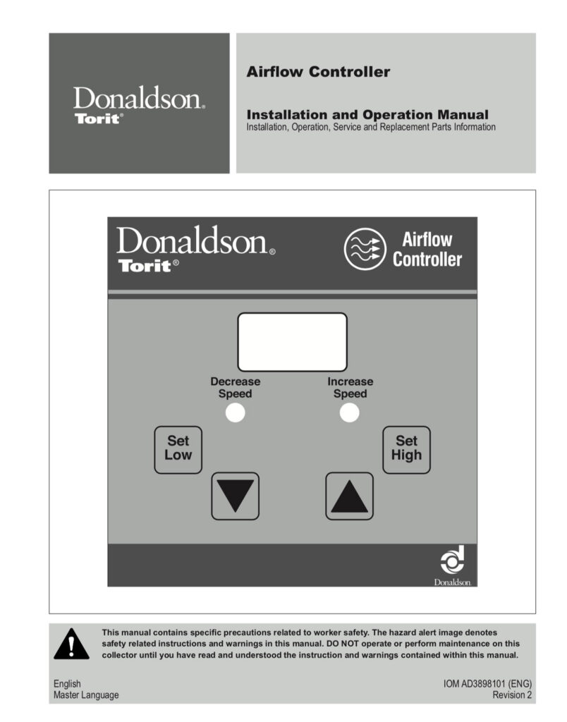 Airflow Controller IOM