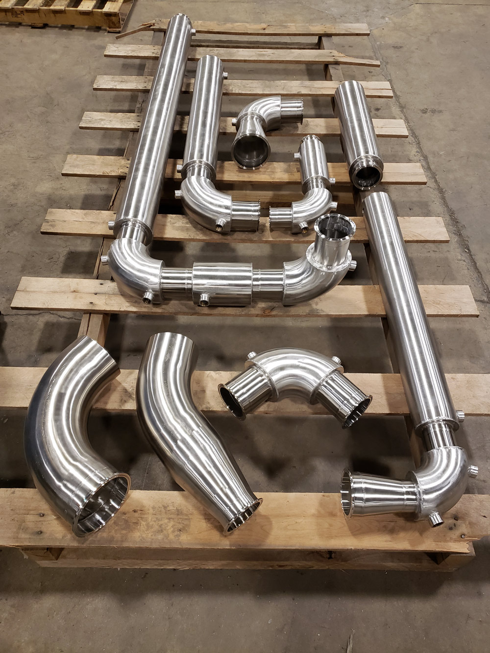 Double Walled Stainless Pipe