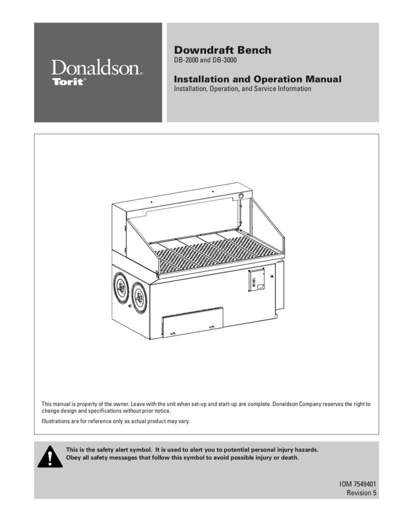 Downdraft Bench DB 2000-3000