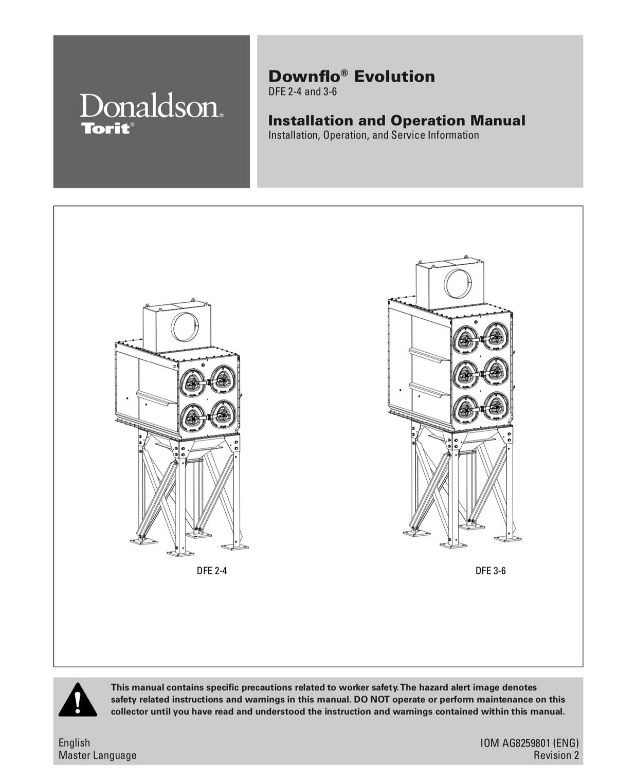 Downflo-Evolution DFE 2-4 and 3-6 IOM