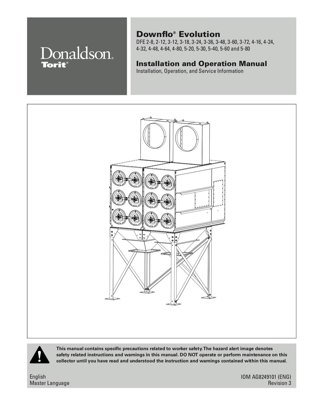 Downflo Evolution DFE 2-8 through 5-80