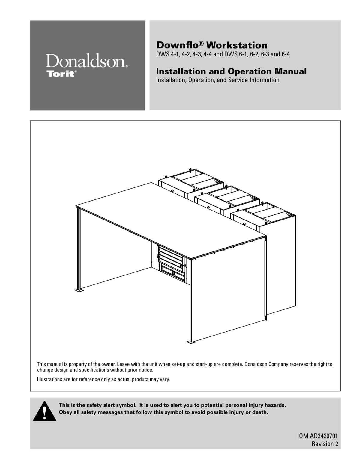 Downflo Workstation DWS 4-1 to 6-4