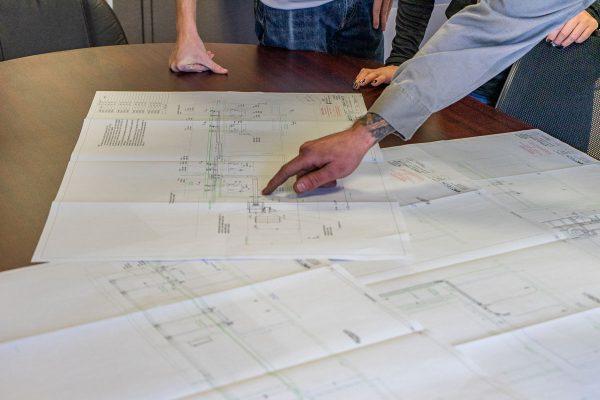 Design drawings prints