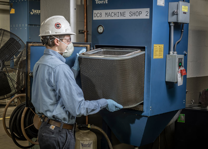 dust collector preventative maintenance
